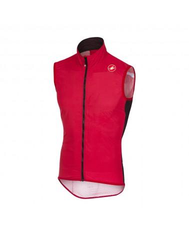 Chaleco Castelli Pro Light Wind Rojo