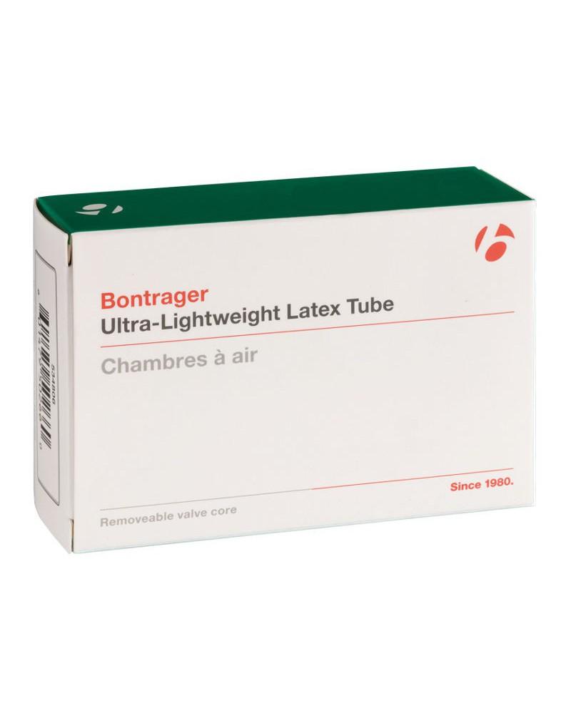 Cámara Bontrager ultra-Lightweight Latex 700x25/30C FV 48 mm