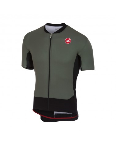 Maillot Castelli Superleggera Forest Gray