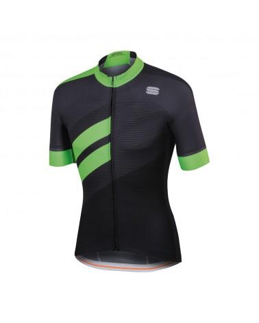 Maillot Sportful Bodyfit Team Negro/Verde