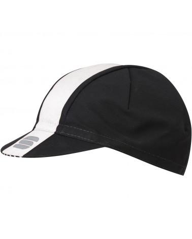 Gorra Sportful Bodyfit Pro Negro/Blanco