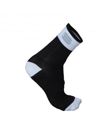 Calcetín Sportful Bodyfit Pro 12 Negro/Blanco
