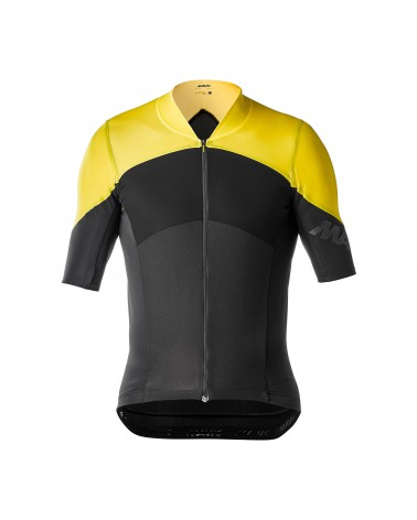 Maillot Mavic Cosmic Ultimate SL Negro/Amarillo