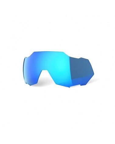 Lente 100% Speedtrap Espejo Multicapa Hiper Blue