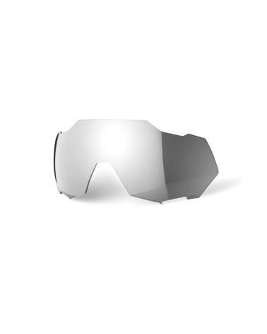 Lente 100% Speedtrap Espejo Hiper Silver