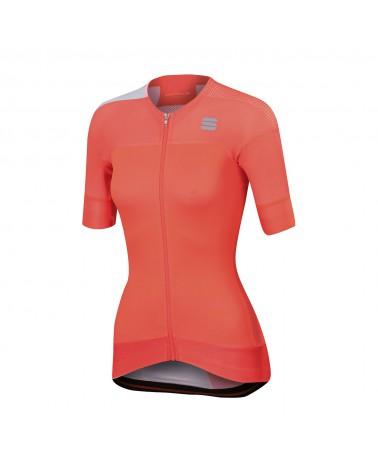 Maillot Sportful Bodyfit Pro Women Evo Coral/Blanco