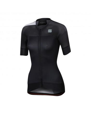 Maillot Sportful Bodyfit Pro Women Evo Negro/Blanco
