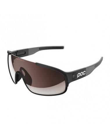 Gafas Poc Crave Negro Uranium Black Translucent/Grey