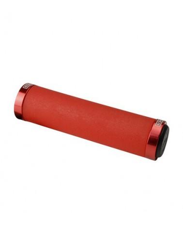 Puños Eltin Silicon Touch Rojo con cierre Rojo