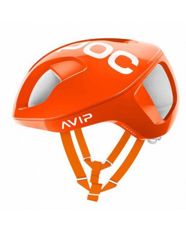 Casco Poc Ventral Spin Zink Orange Avip