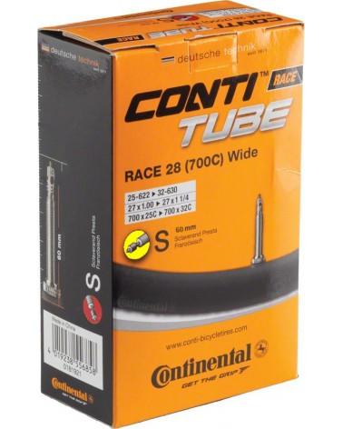 Camara Continental Race 700x25-32c Presta 60mm