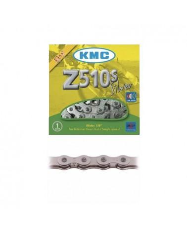 Cadena Kmc Z-510S BMX 1V Cromado
