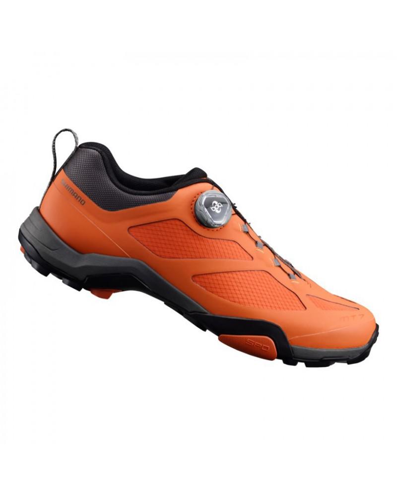 Zapatillas Mtb Shimano MT700 Naranja