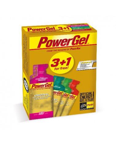 Gel Powerbar Powergel Multiflavour Triopack 3+1