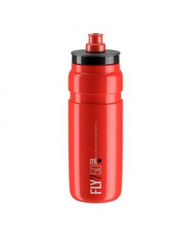 Bidón Elite Fly Rojo Logo Negro 750 ml.