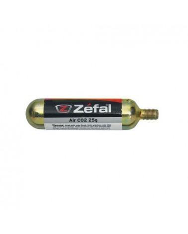Bombona de CO2 Zefal 25 gramos.