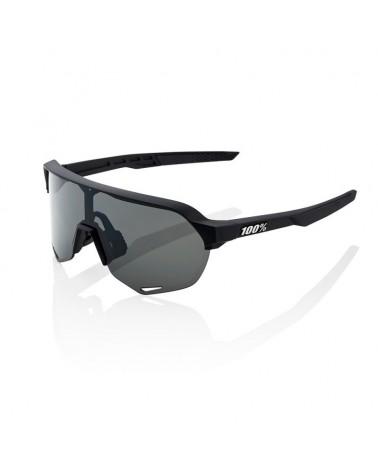 Gafas 100% S2 Negro Soft Tact Lente Ahumada