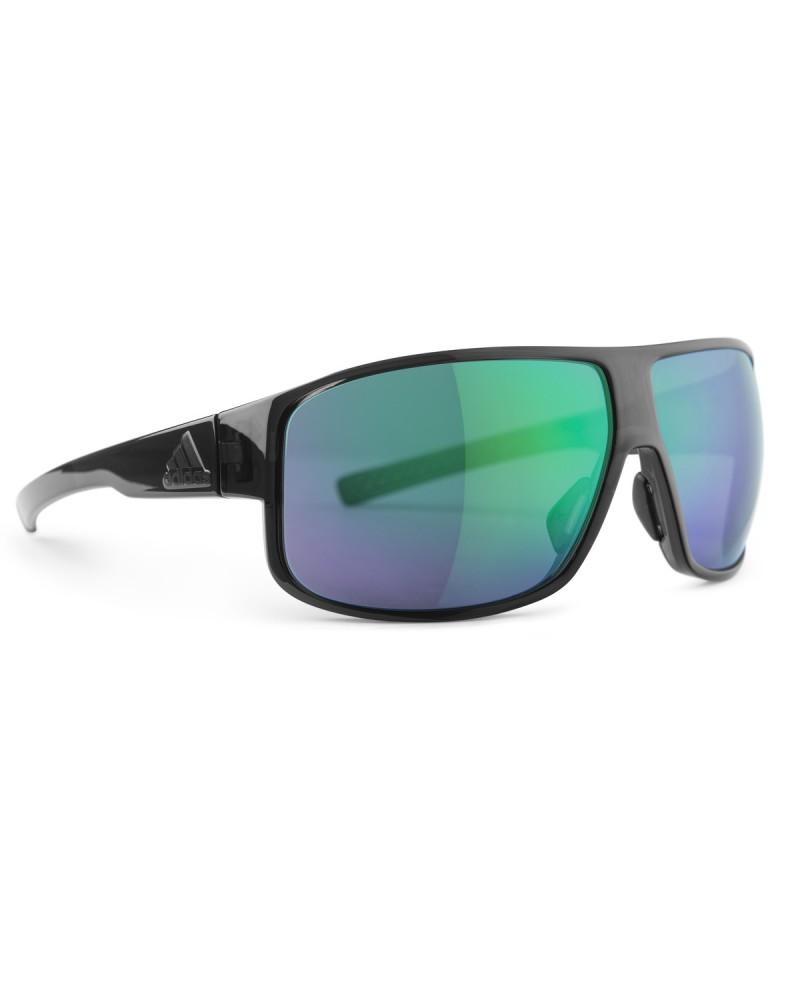 Gafas Adidas Horizor Coal Brillante Lente Verde Espejo