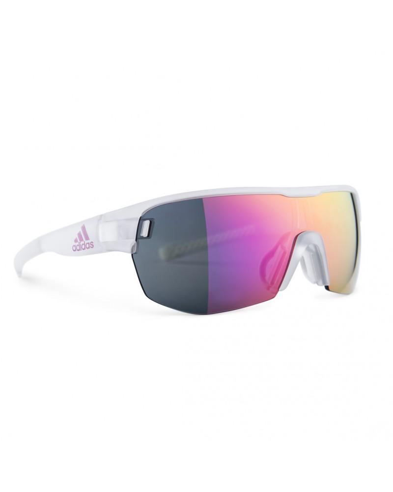 Gafas Adidas Zonyk Aero Midcut Cristal Mate Lente Purple Espejo