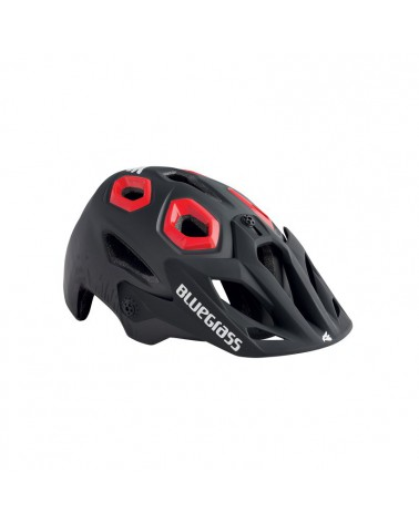 Casco Bluegrass Golden Eyes Negro/Rojo
