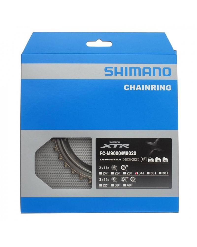 Plato Shimano XTR M9000/9020 para 2x11v Exterior