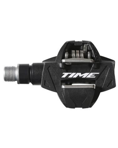 Pedales Time XC4 Composite Acero Negro