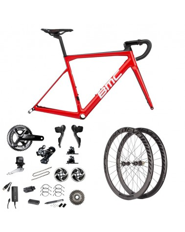 Bicicleta BMC Teammachine SLR01 Disc Team Red 2019