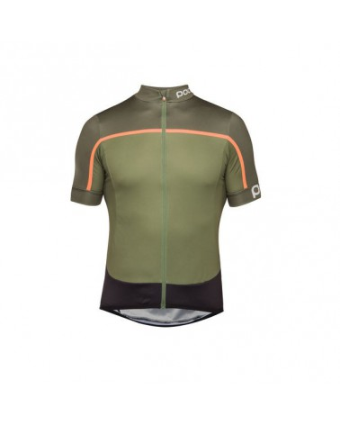Maillot Poc Essential Road Block pentlandite multi green