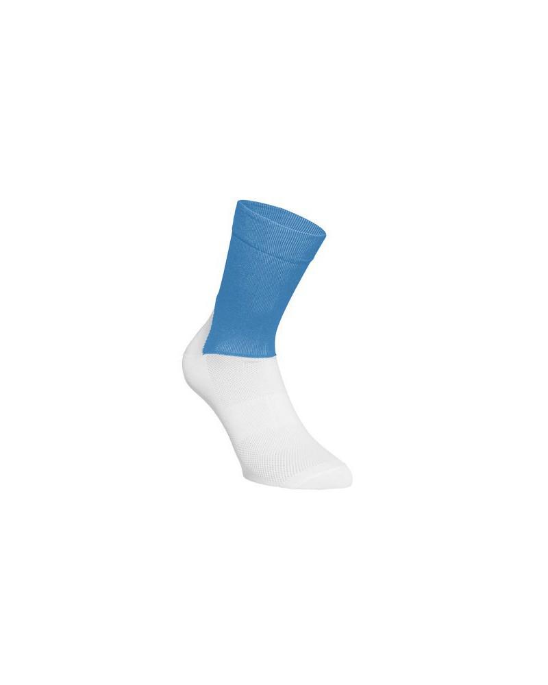 Calcetín Poc Essential Road Stubium Blue/Hydrogen White