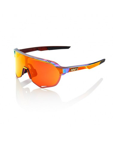 Gafas 100% S2 Peter Sagan Limited Edition Lente Espejo Roja HD Multilayer