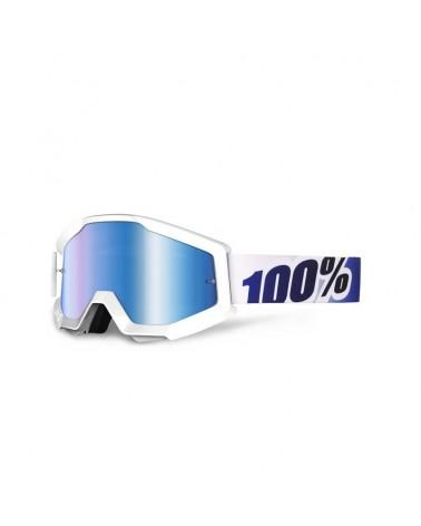 Mascara 100% Strata Ice Age Lente Espejo Azul