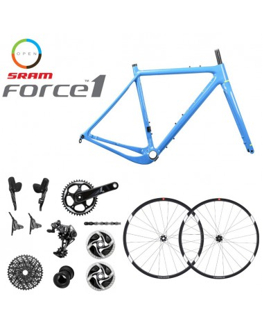 Bicicleta OpenCycle New U.P. Blue Sram Force 1 650b