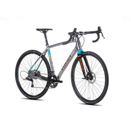 Bicicleta Niner RLT 9 Rival 22 Plata/Naranja/Azul