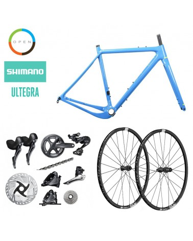 Bicicleta OpenCycle New U.P. Blue Shimano Ultegra R8000 700c