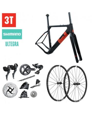 Bicicleta 3T Exploro FM Team Shimano Ultegra R8000 700c