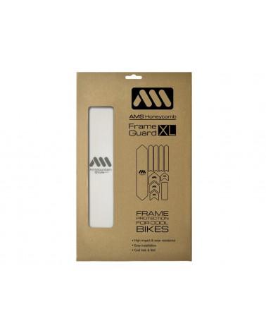 Protector de cuadro AMS Honeycomb XL Clear/Silver