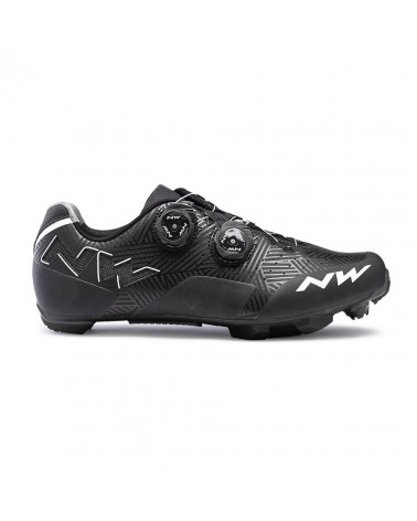 Zapatillas Mtb Northwave Rebel Negro/Blanco