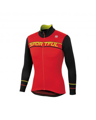 Maillot Sportful Giro Thermal LS Rojo/Negro