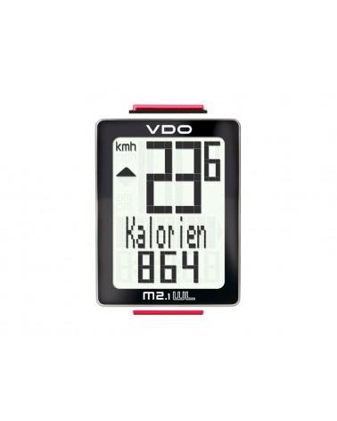 Cuentakilómetros inhalambrico VDO M2.1 WL