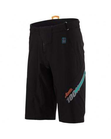 Pantalones Cortos Baggy 100% Airmatic Negro Fast Time