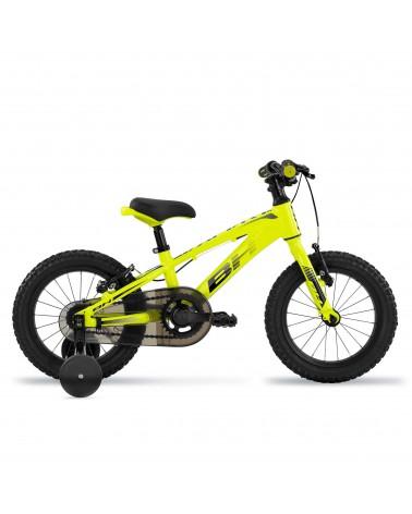"""Bicicleta BH Expert Junior 14"""" Amarillo/Negro"""