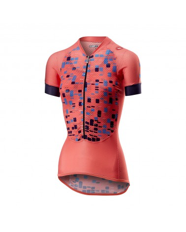 Maillot Castelli Climber's Mujer Salmon
