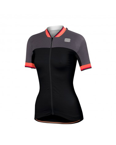 Maillot Sportful Grace Women Negro/Antracita