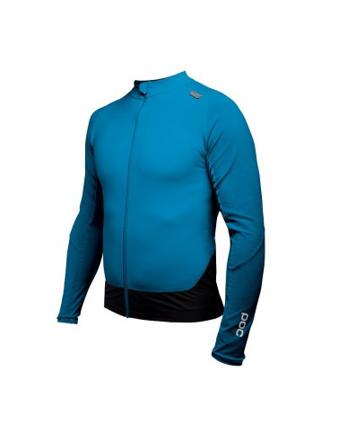Maillot Poc resistance pro xc zip furfural blue