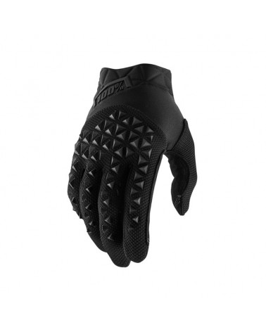 Guantes 100% Airmatic Black Carbon