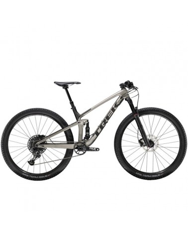 Bicicleta Trek Top fuel 9.7 NX 2020 Silver Black