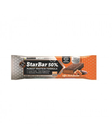 Barrita Namedsport Starbar 50% Protein Cafe 50gr.