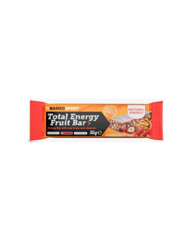 Barrita Namedsport Total Energy Fruit Arándanos y nueces 35GR
