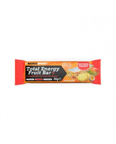 Barrita Namedsport Total Energy Fruit Caribe 35grs.