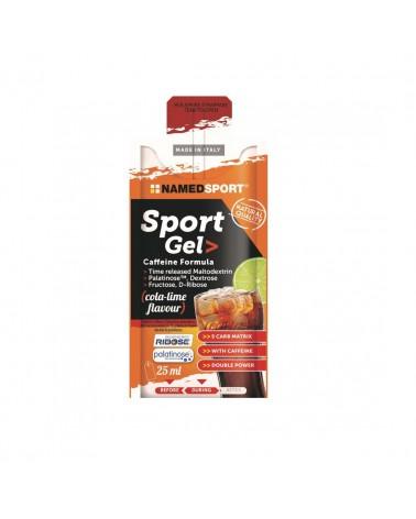 Gel Namedsport Sport Caffeine Formula Cola Lima 25ml